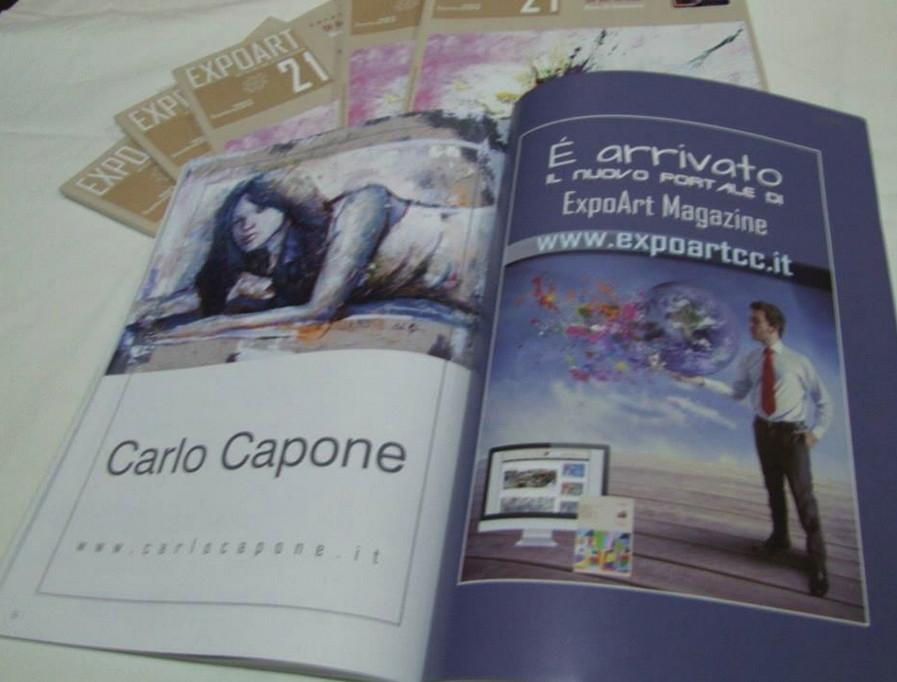 EXPOART 21 - Magazin Italy - Dezember 2013