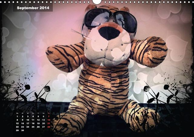 Zauberhafte Kuscheltiere - Tom Tiger