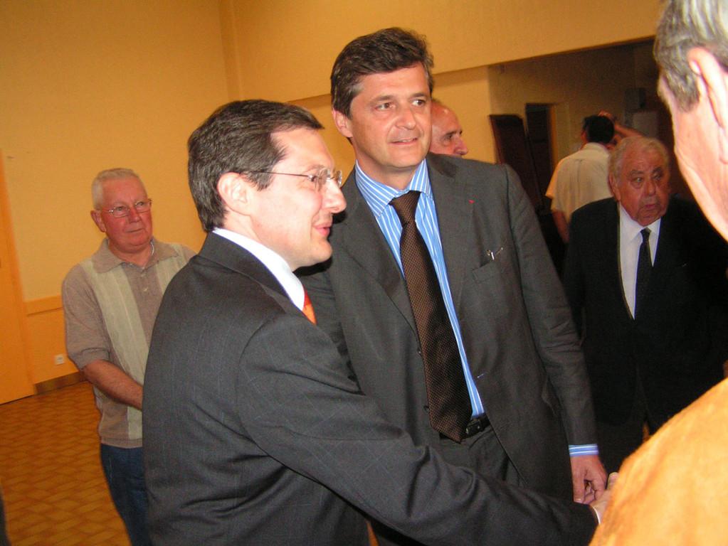 Visite en Région Centre avec Nicolas Forissier