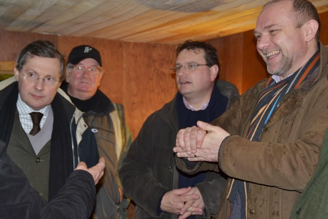 Avec le Député Philippe Gosselin et Frédéric Nihous