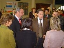 Visite dans le Finistère avecd le Député J.Le Guen