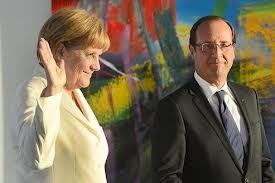 François Hollande face à Angela Merkel: la signature de Nicolas Sarkozy respectée