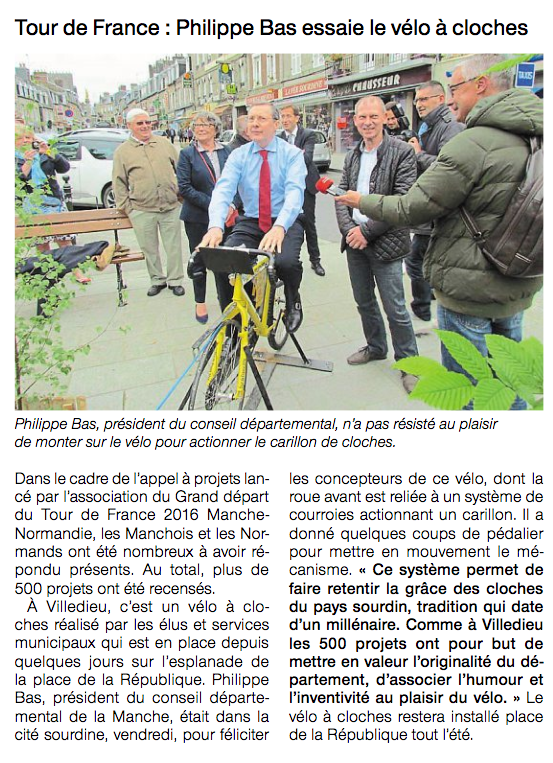 Ouest-France, 05.06.2016