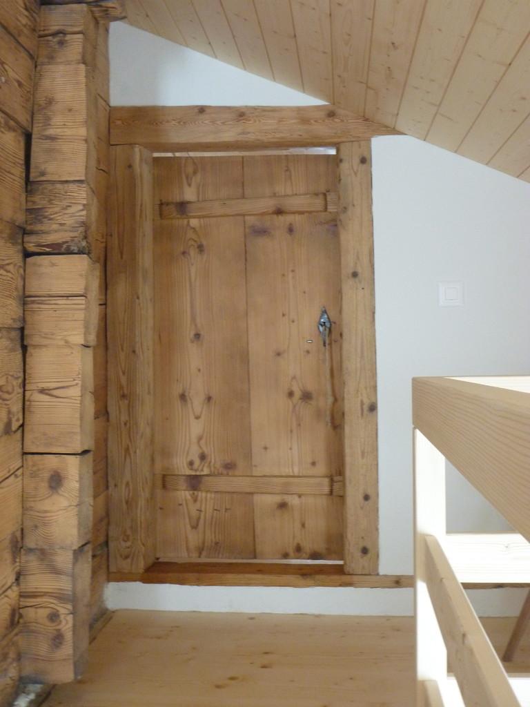 Eingang zum kleinen Schlafzimmer