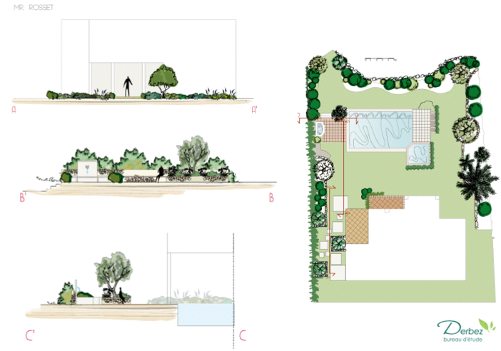 2013_Project of a propriety garden in Ste Maxim Gulf (Ste Maxim, Costa Azzurra,FR)