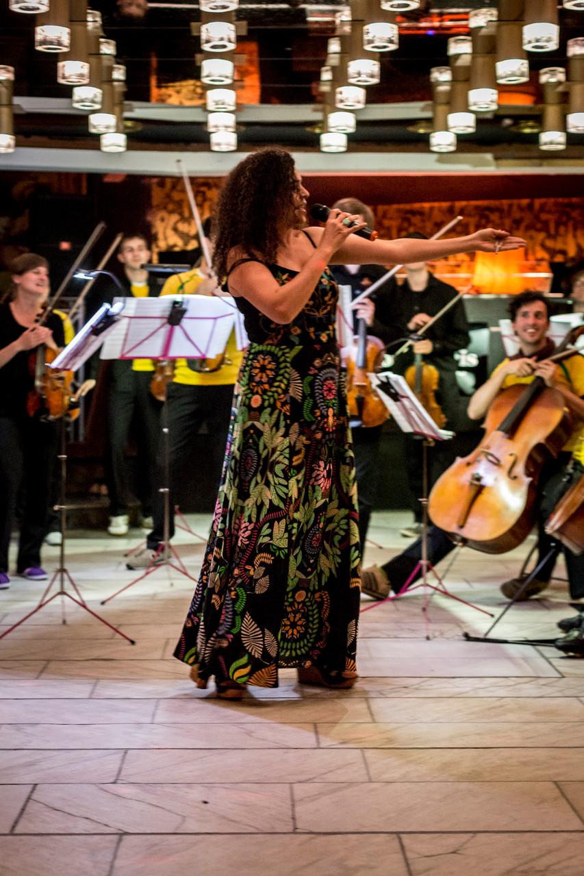 BRASIL mit Rosani Reis           Oma Doris Tanzcafé Dortmund           (c) Christian Huhn