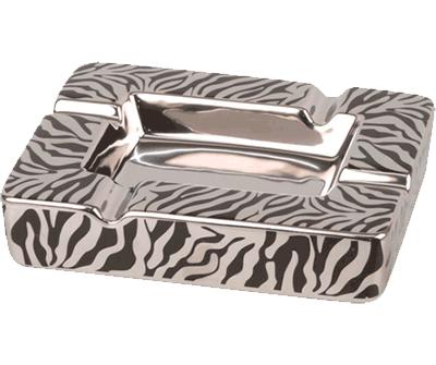 Zigarren Ascher, Zebra