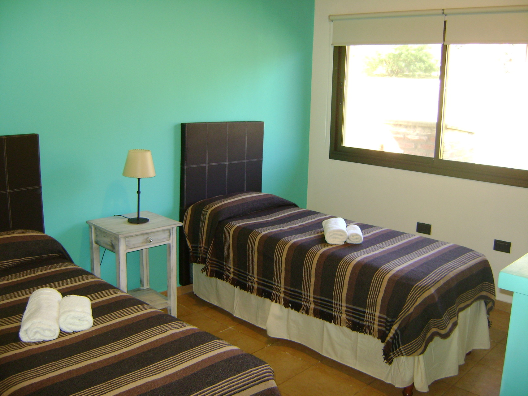 Dormitorios con sommiers.