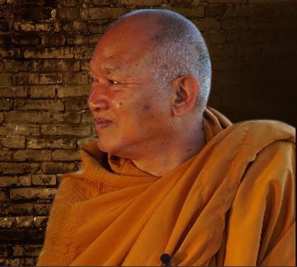 Phra Alongkot Dikkapanyo, Abbot of Wat Phrabat Namphu in Lopburi Province