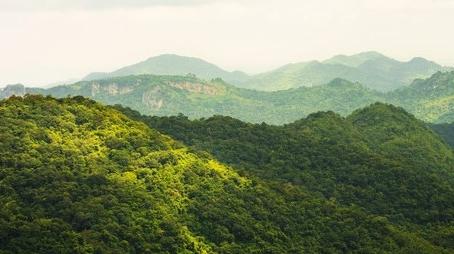 Mountains at Khao Yai
