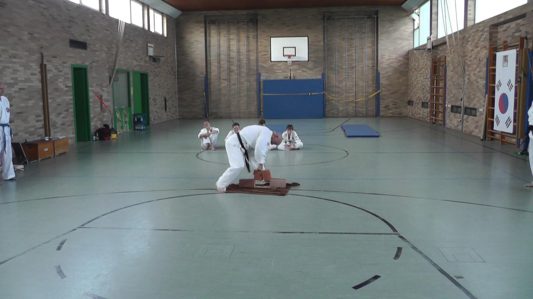 Vorführung Taekwondo