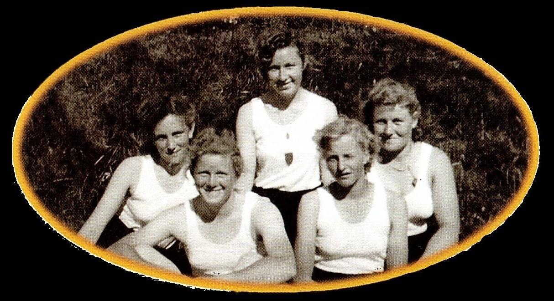 Faustball-Mannschaft