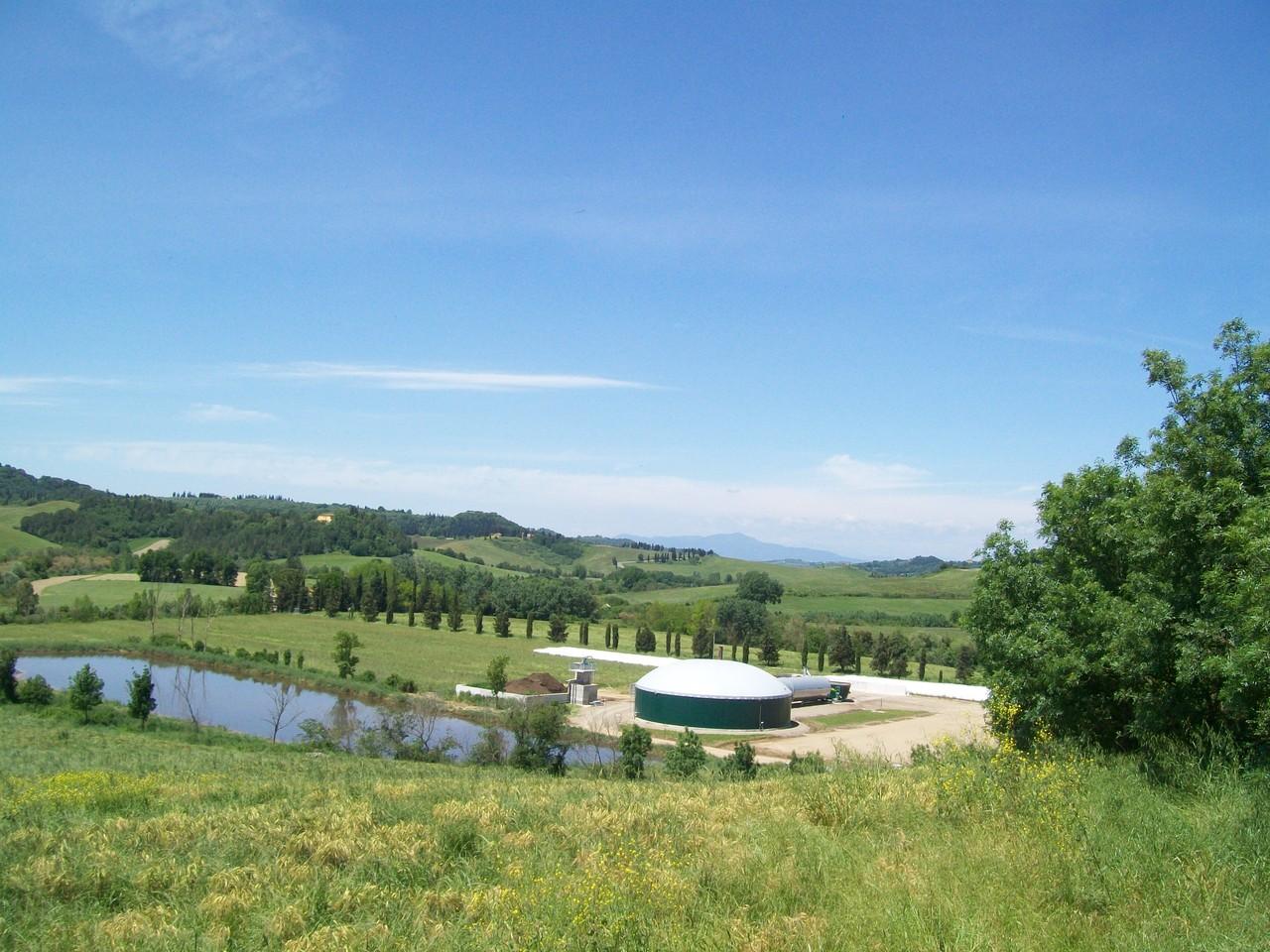 L'impianto di biogas integrato nella realtà aziendale