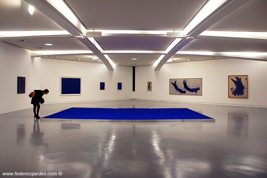 Nizza, MAMAC, Yves Klein