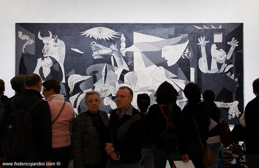 Madrid, Reina Sofia, Picasso