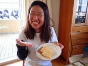 6月30日&7月1日の講師は、長崎からはるばる来てくれる望月千幸さん(もっちー)です!お菓子作りが趣味、走りもピカイチ!