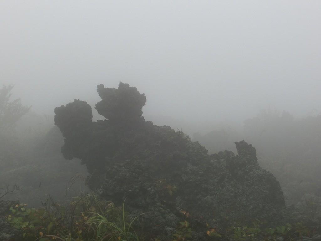 溶岩のオブジェ