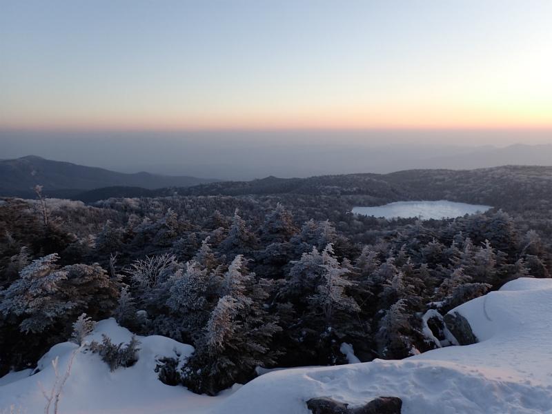 1月 北八ヶ岳スノーシューハイキング