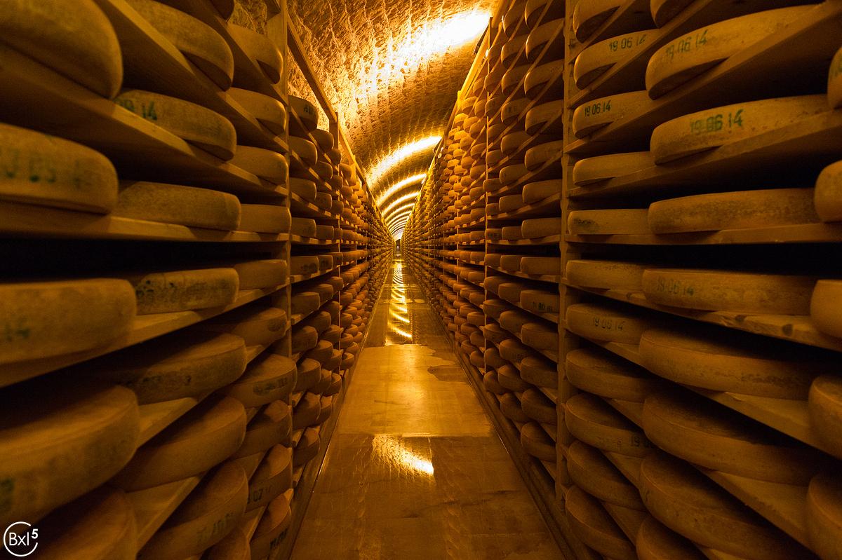 Les caves a fromage du Fort des Rousses
