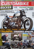Custombike 03/09 report on the Rau Golden Brown