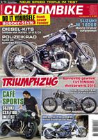 Custombike 06/10 6-seitiger Bericht über die GSX 1100 Cafe© Racer