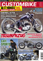 Custombike 06/10 6-page report on the GSXR 1100 Cafe© Racer