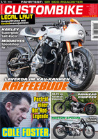 Custombike 03/13 cover und 7-page report on the Laverau