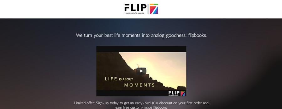 Flip7ウェブサイト画像