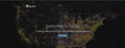 TwitterMap by GoGeo