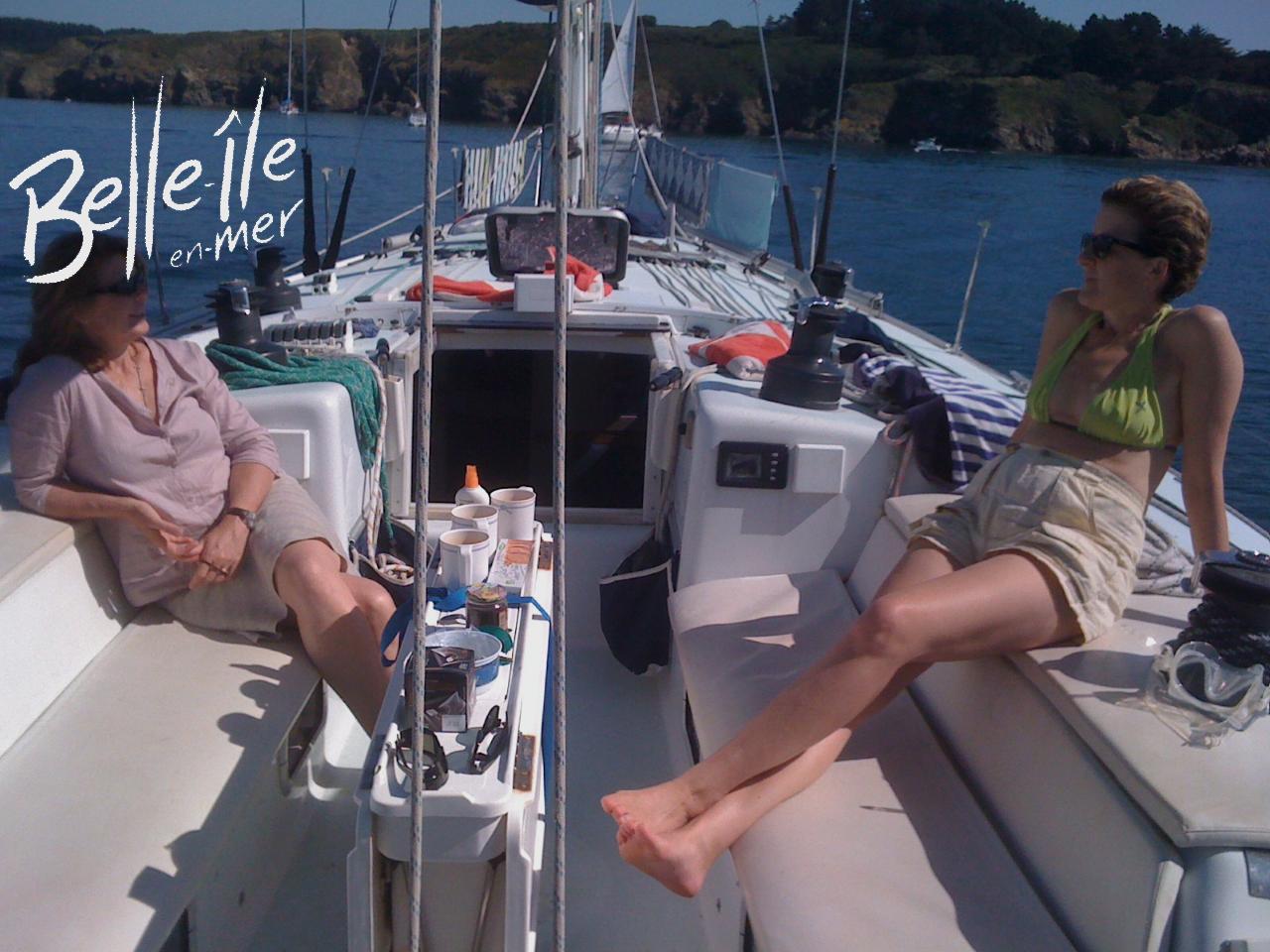 Naviguer autour de Belle-Ile