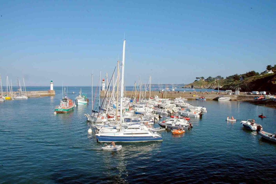 Gite Belle Ile - Le port de Palais