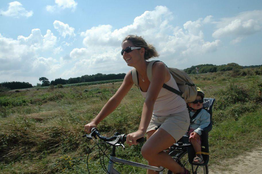 Gite Belle Ile en Mer - A bicyclette sur les chemins