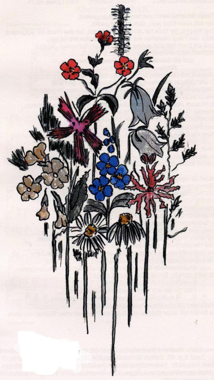 ------ watercolour by Sophie (iffi) Seiler 1927 ------ (Ursula's grandmother)