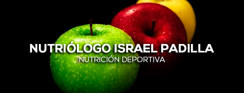 Nutriólogo Israel Padilla - Nutrición deportiva