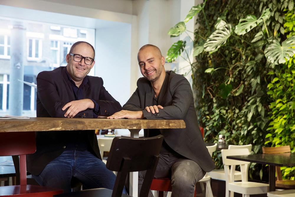Die Gründer von Conscious Hotels Amsterdam: Sam Cohen und Marco Lemmers