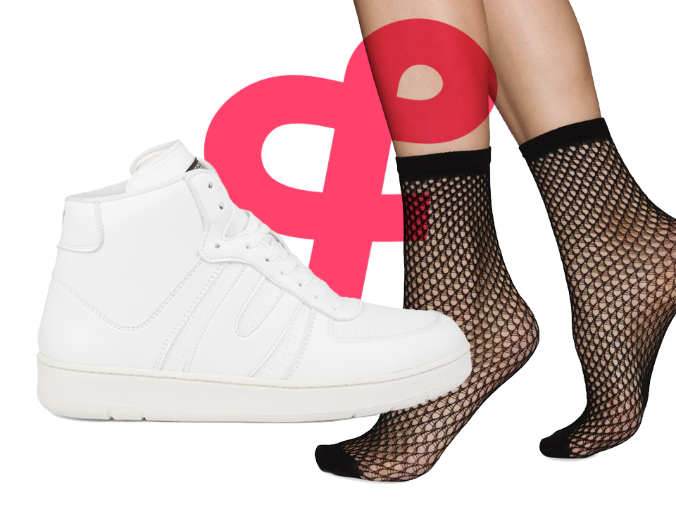Numéro 2 | VEGETARIAN SHOES ❤️ Swedish Stockings
