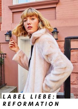 Look-Book-Bild des nachhaltigen Fashion Labels Reformation