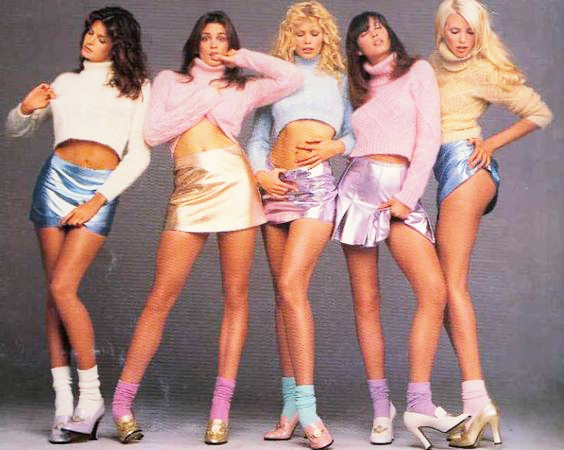 Gianni Versace Kollektion 90s, Metallic Röcke