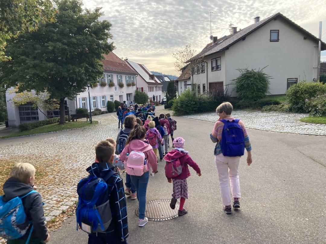 Wanderung nach Marbach