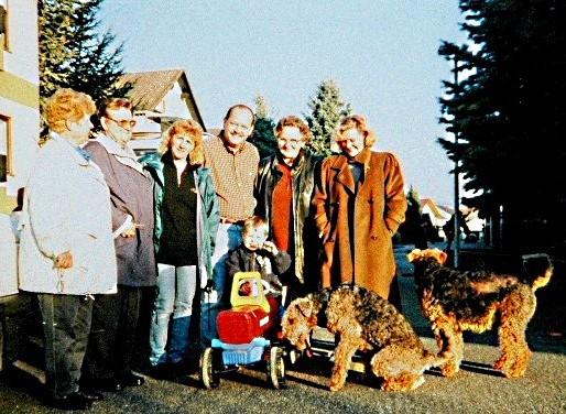 1999 Gregory und Henry bei einem Kindergeburtstag