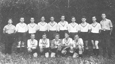 Mannschaft aus der Gründungszeit