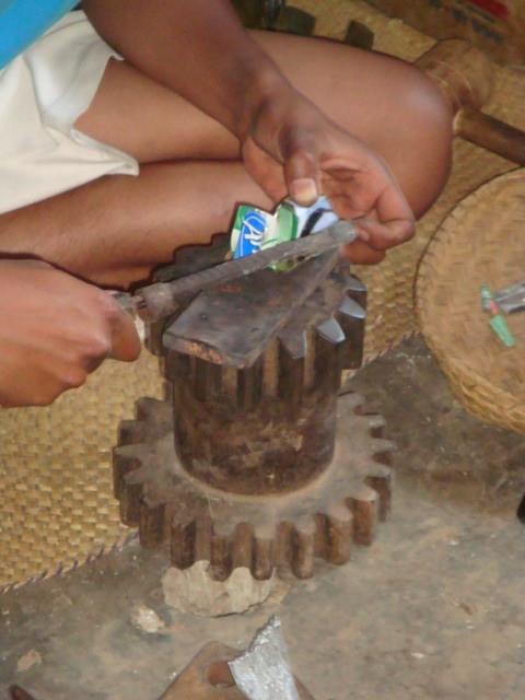 Fabrication de miniatures