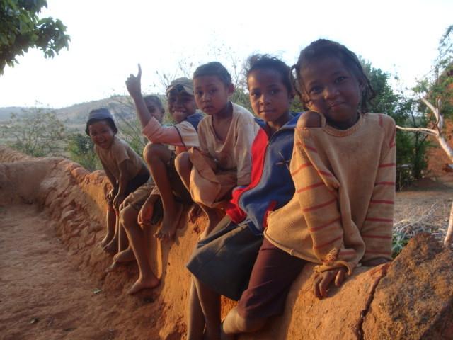 Enfants malagasy