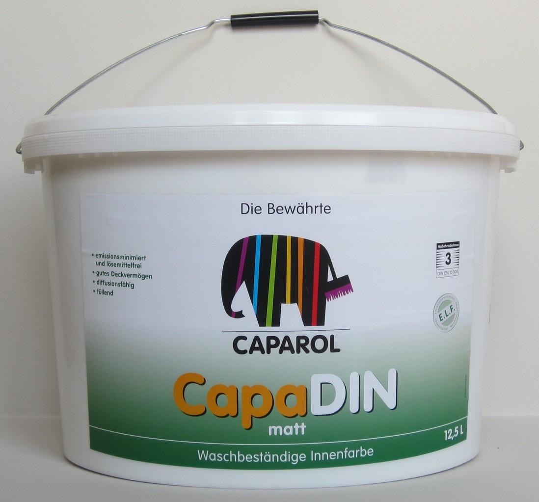caparol capadin wei 12 5 l leisten more shop. Black Bedroom Furniture Sets. Home Design Ideas