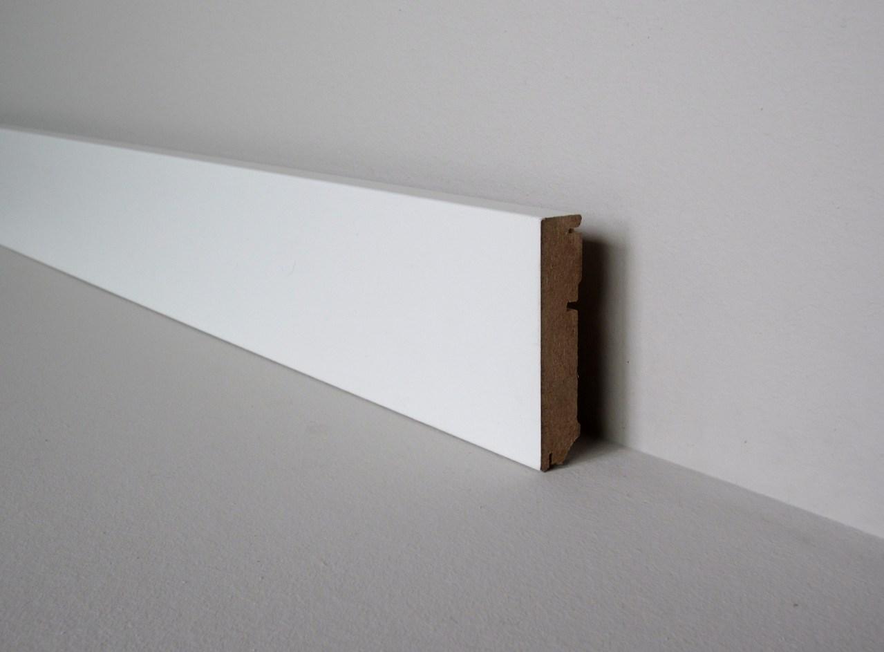"Interessant Sockelleiste ""Modern"" Eckig - Leisten & more Shop QR34"
