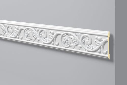 Wandleiste z12 arstyl nmc leisten more shop - Cornici decorative in gesso ...