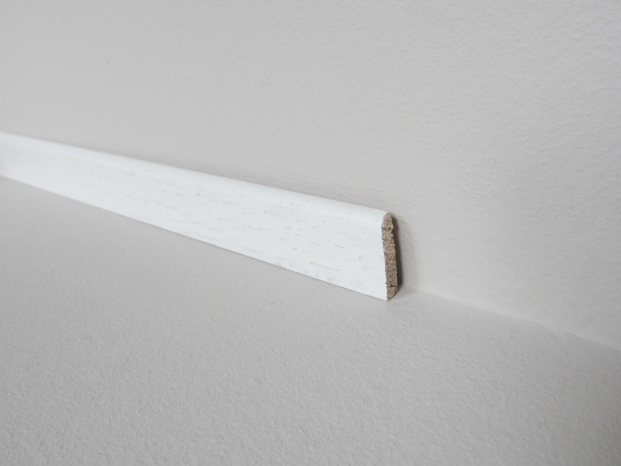 sl 151 scheuerleiste sl 6 24 ramin ersatz wei 2 70 m. Black Bedroom Furniture Sets. Home Design Ideas