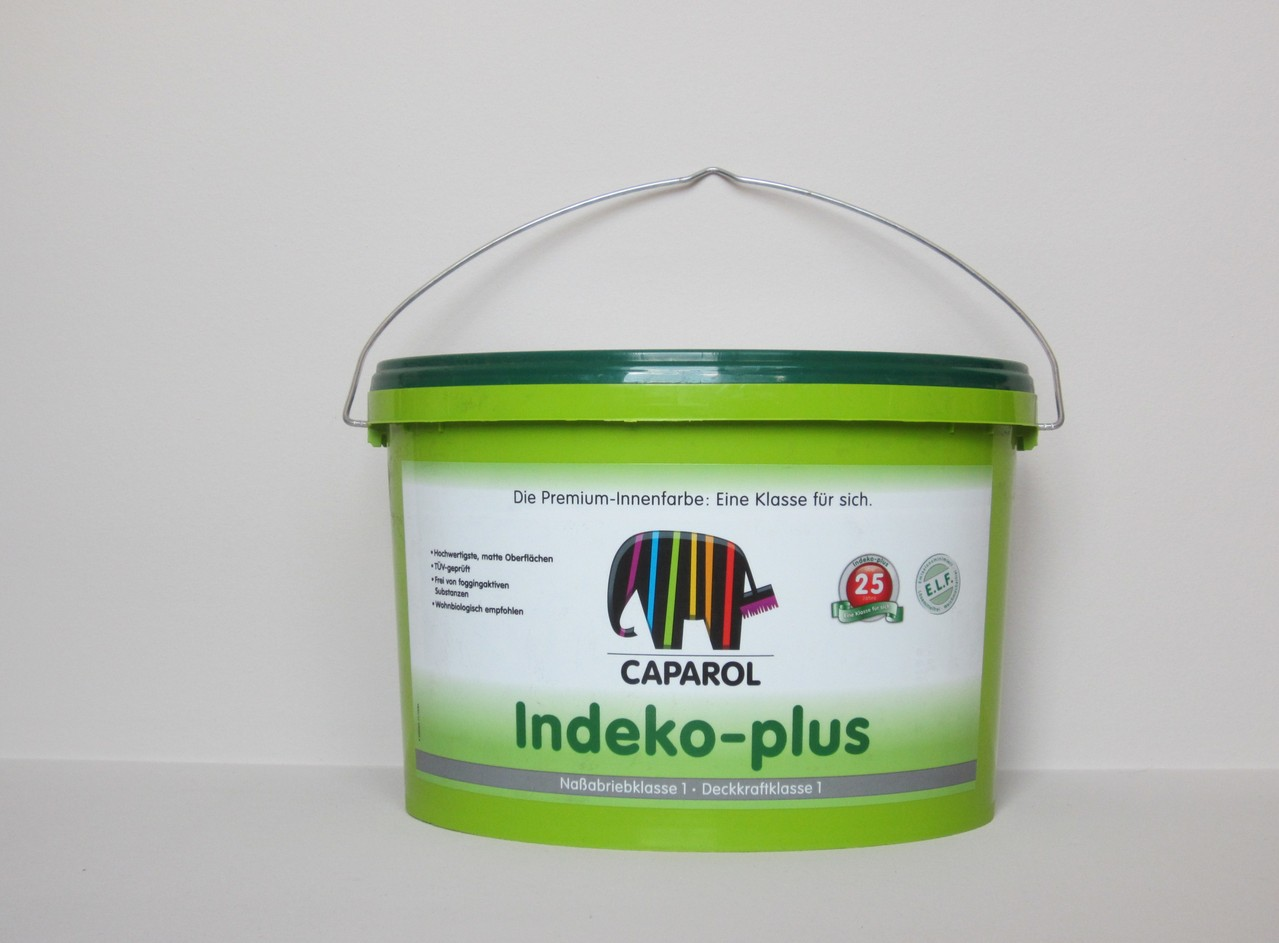 caparol indeko plus 5 l wei caparol farben indeko. Black Bedroom Furniture Sets. Home Design Ideas