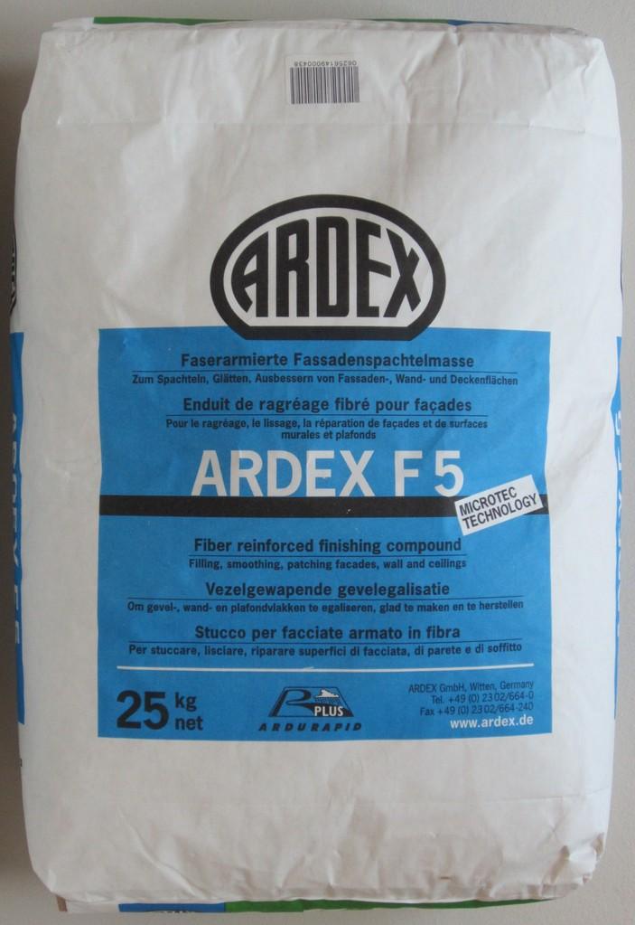 Decke Tapeten Ausbessern : ARDEX – ARDEX F5 Faserarmierte Fassadenspachtelmasse von ARDEX 25kg