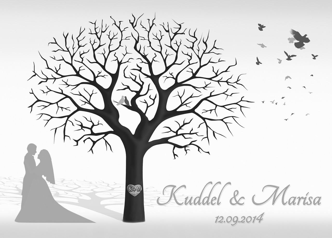 Hochzeitsbaum Motiv 182 Ab 4199 EUR